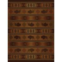 Ridgeland Buffalo Country Area Rug - 8' x 11'