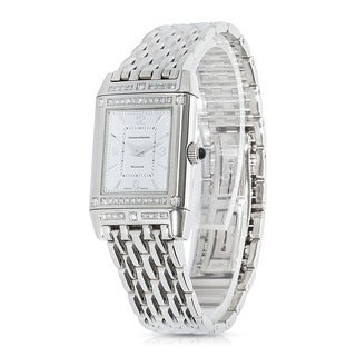 Pre-Owned Jaeger LeCoultre Reverso Ladies Watch in 18K White Gold