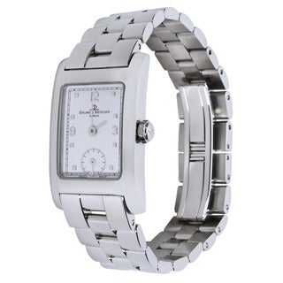 Pre-Owned Baume & Mercier Hampton MVO45139 Ladies Watch in Stainless Steel