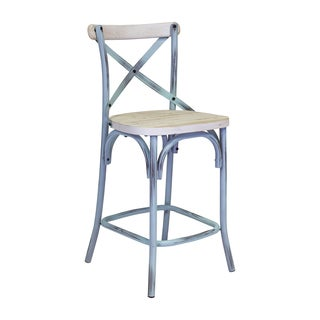 Bella Cross Back Counter Stool