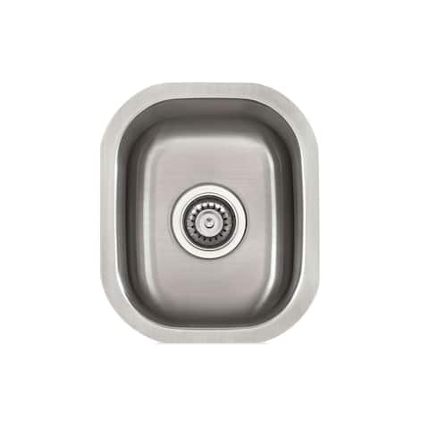 KBF & MORE Stainless Steel 15-inch x 13-inch Bar Sink
