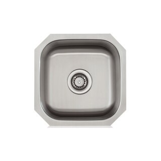 Stainless Steel 16X16 inch Bar Sink