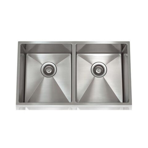 Lenova Brushed Stain Stainless Steel 1/2-inch Radius Sink