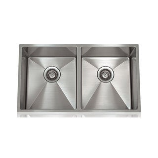 Lenova Brushed Stain Stainless Steel 1/2-inch Radius Sink