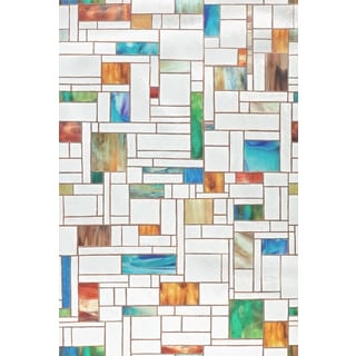 "Artscape 02-3606 24"" X 36"" Melange Decorative Window Film"