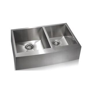 Lenova Zero Radius Stainless Steel Farmhouse Sink