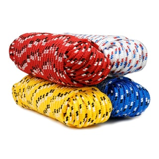 "Baron 42217 3/8"" X 50' Diamond Rope Assorted Colors"