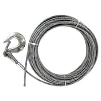 "Baron 59005 1/4"" 7 X 19 X 100' Galvanized Cable"