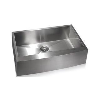 Zero Radius Farmhouse Stainless Steel Sink
