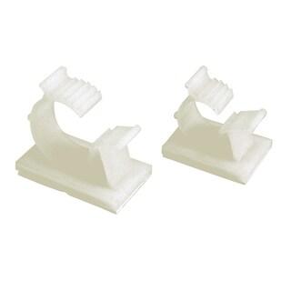 GB Gardner Bender GKK-1575 White Plastic Kwik Clips UVB, Adjustable and Ratcheting