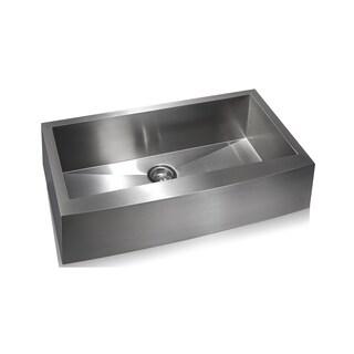 Zero Radius Farmhouse Sink