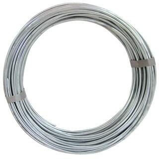 Ook 50140 50' 9 Gauge Galvanized Steel Hobby Wire