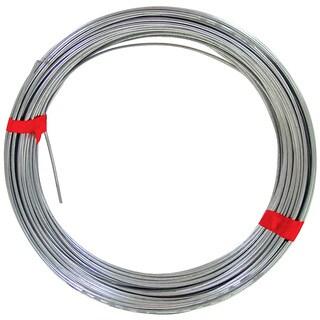 Ook 50142 100' 14 Gauge Galvanized Steel Hobby Wire