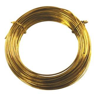 Ook 50151 50' 20 Gauge Brass Hobby Wire