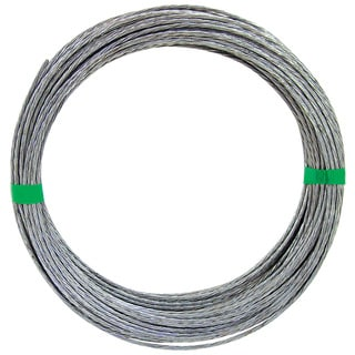 Ook 50180 100' 20 Gauge 6 Strand Galvanized Steel Hobby Wire