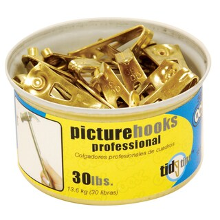 Ook 50671 30# Professional Picture Hooks In Tidy Tin 15-ct