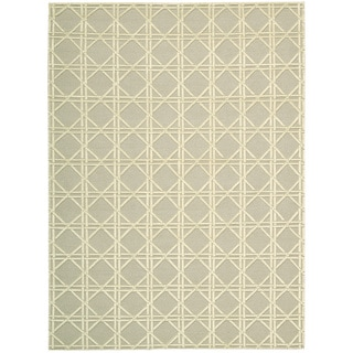Nourison Silken Textures Light Green Area Rug (9'6 x 13')