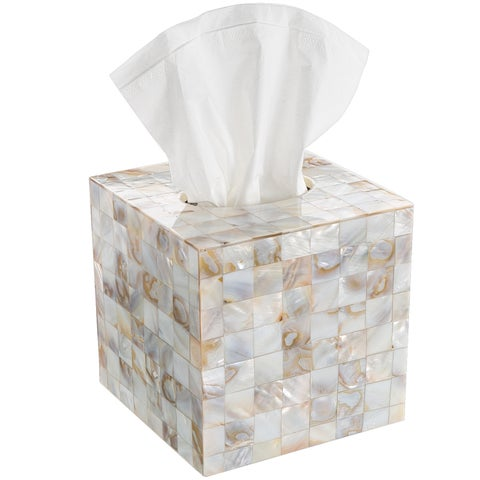 Creative Scents Milano Square Tissue Box Cover