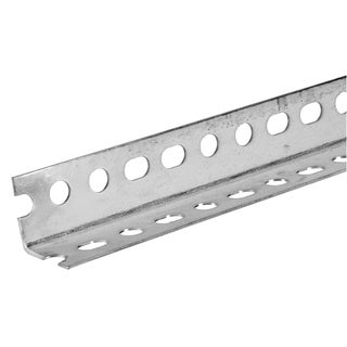 """Boltmaster 11110 1-1/2"""" X 48"""" Slotted Angle Bar Galvanized"""