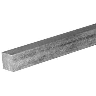 """Boltmaster 11173 3/16"""" X 12"""" Zinc Plated Square Key Stock"""
