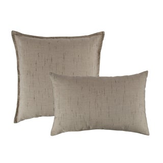 Austin Horn Classics Sunbrella Frequency Sand Combo Outdoor Throw Pillows