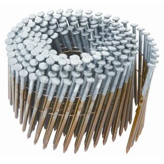 "Hitachi 12714 3-1/4"" X .131"" Round Head Smooth Galvanized Framing Nails"