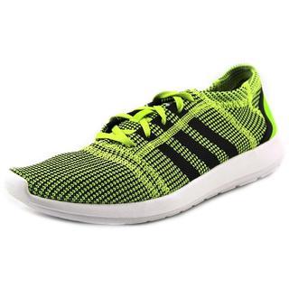 Adidas Men's 'Element Refine Tricot M' Green Basic Textile Athletic Shoes