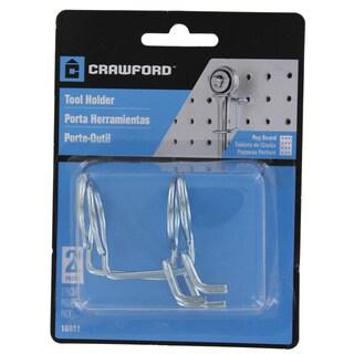 Crawford 18611 Peg Tool Holder 2 Pack