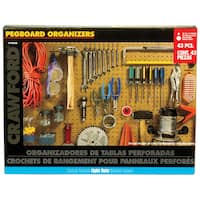 Lehigh Group 1843B-6 43 pc Pegboard Kit