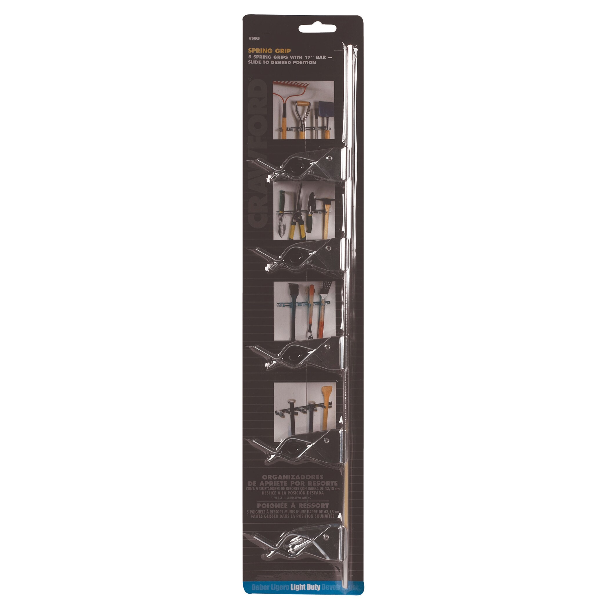 Lehigh Group SG5 Spring Grip Organizer (Hardware) (Plastic)