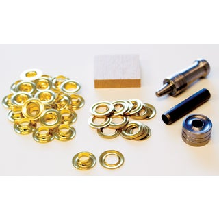Lord & Hodge 1073A-2 #2 Brass Handi-Grommet Kits 24-ct