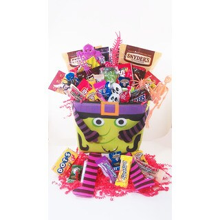 Witches Night Candy Pail