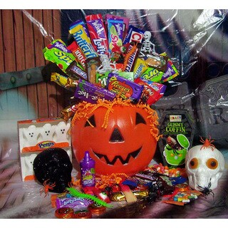 Deluxe Trick Or Treat Pumpkin