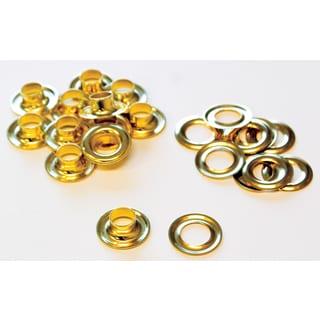 Lord & Hodge 1074-3 #3 Brass Grommet Refills 12-ct
