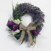12 inch Tulip Wreath