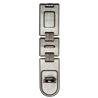 "Master Lock 722DPF 7-3/4"" Double Hinge Security Hasp"