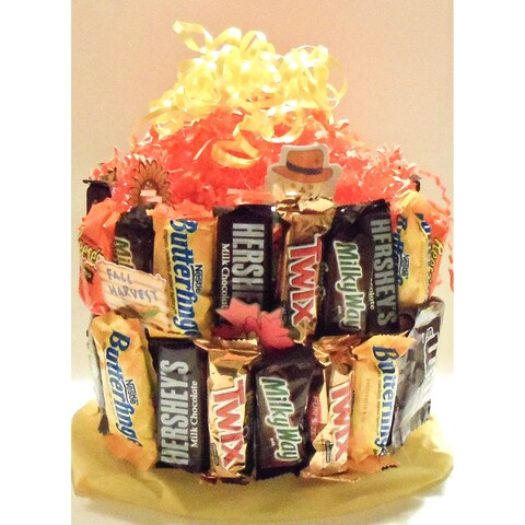 Autumn Candy Cake