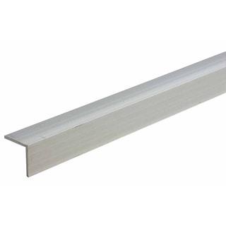 "M-D 60830 2"" X 48"" Mill Aluminum Equal Leg Angle Bar Stock"