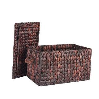 Small Autumn Wicker Storage Trunk