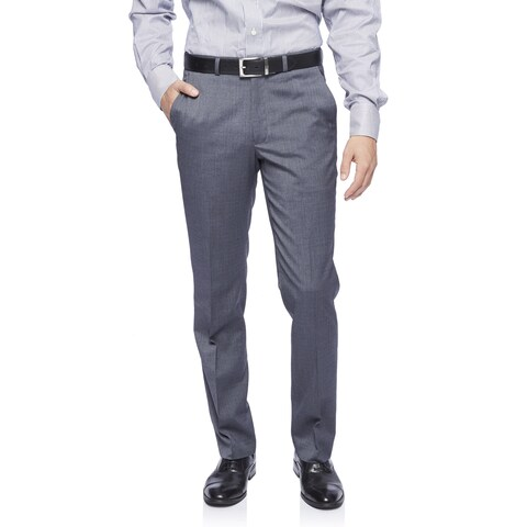 Kenneth Cole New York Techni-Cole Trousers in Medium Grey Shadowgraph