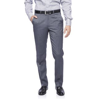 Kenneth Cole New York Techni-Cole Trousers in Medium Grey Shadowgraph|https://ak1.ostkcdn.com/images/products/12730270/P19509469.jpg?impolicy=medium