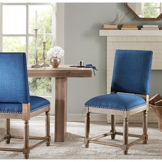 Renate Navy Dining Chair (set of two)