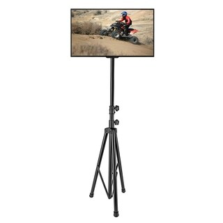 Pyle PTVSTNDPT3211 Over-60-inch TV LCD Flat Panel Steel Monitor Mount Portable Tripod