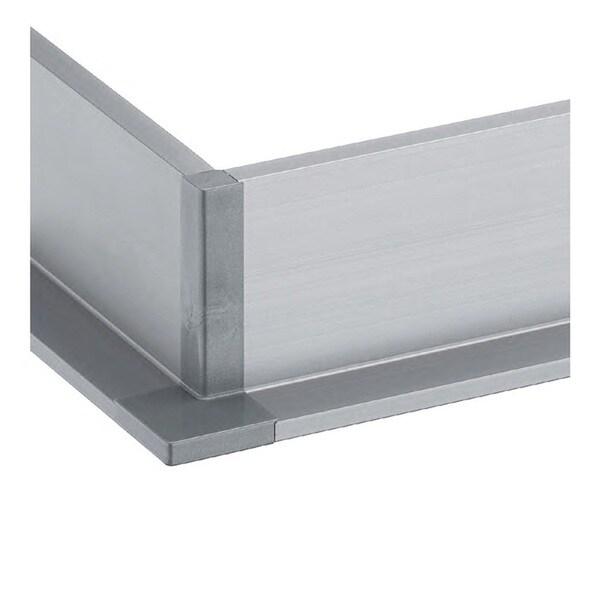Schwinn Hardware Handle-Free Cabinet Hardware 6K400-L Outer Corner Silver Component  sc 1 st  Overstock.com & Shop Schwinn Hardware Handle-Free Cabinet Hardware 6K400-L Outer ...