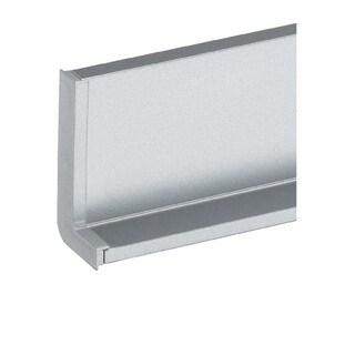 Schwinn Hardware Handle-Free Cabinet Hardware 6K376 L Cap Left Silver Component