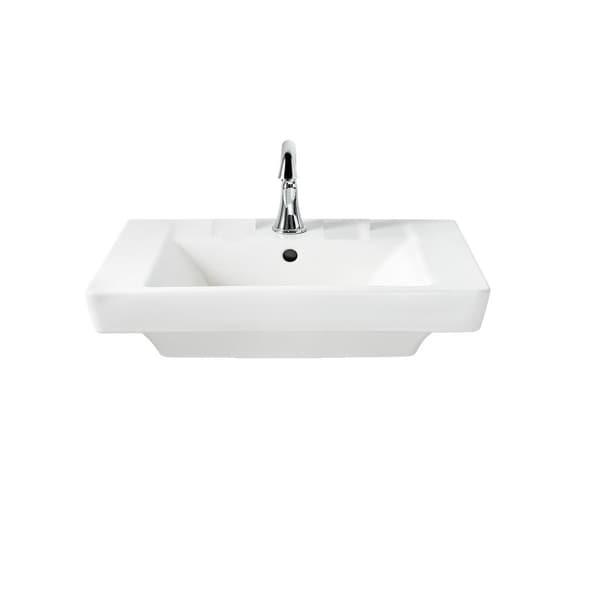 Shop American Standard Boulevard 24 Inch Pedestal Sink Only 0641.001 ...