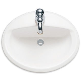 American Standard Aqualyn Porcelain C-Top Sink