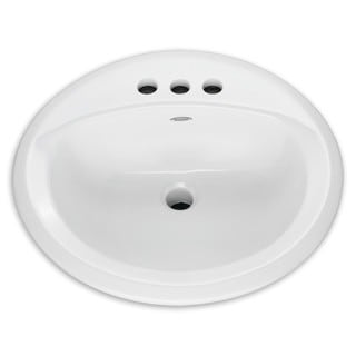 American Standard Rondalyn C-Top Lava 4 In Ctrs White Sink