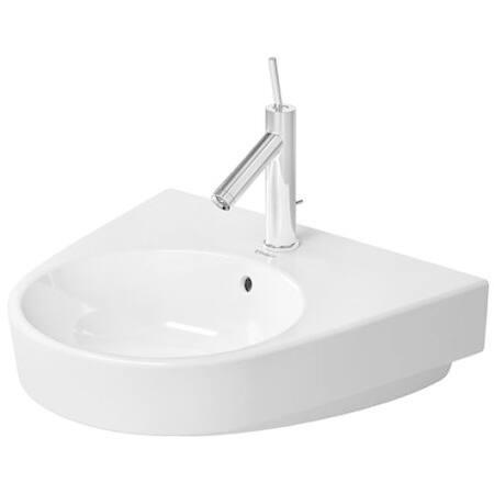 Duravit Starck White Porcelain Single-hole Wall-mount Washbasin Sink 2323550000