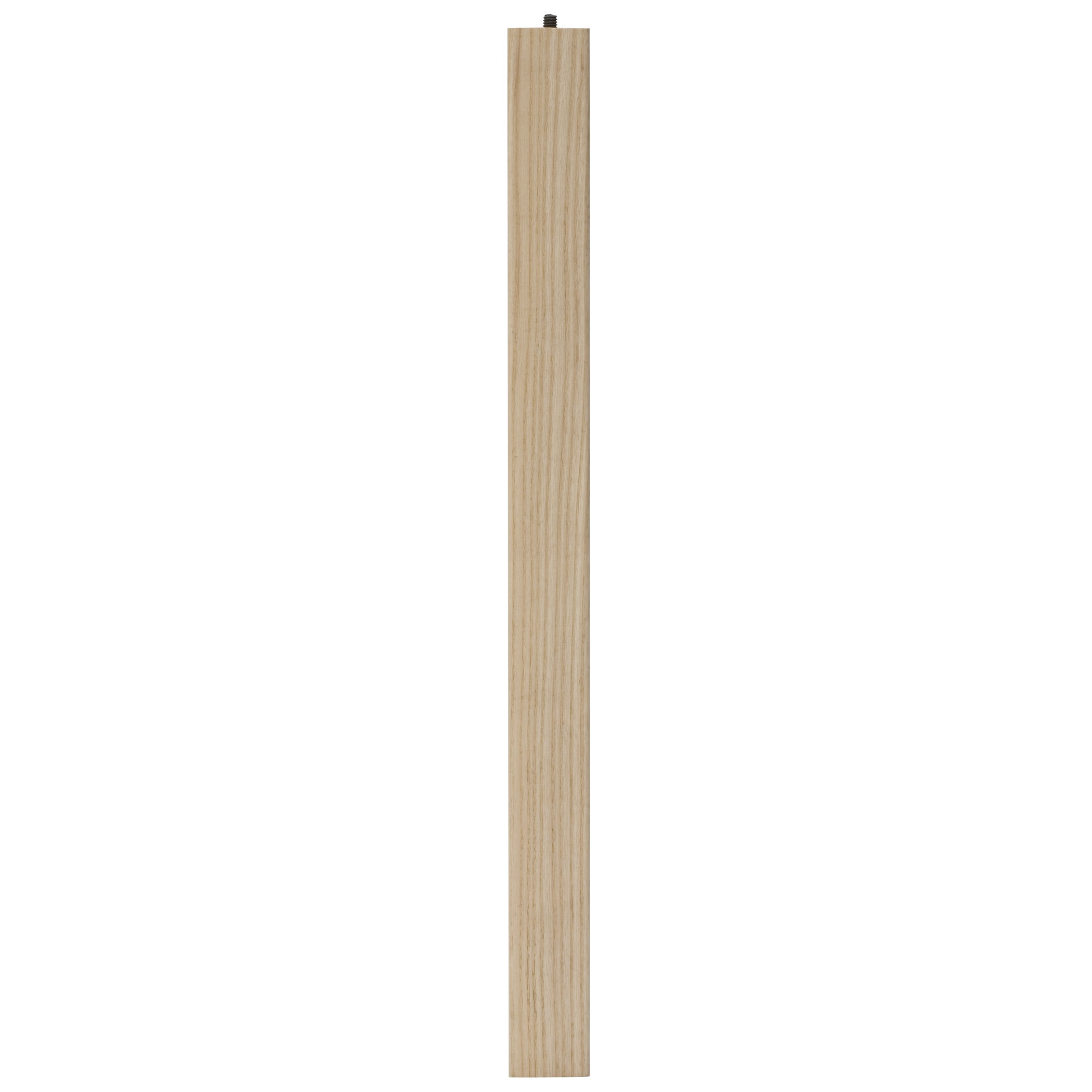 "Waddell 2671 21"" Ash (Grey) Parsons Table Leg (Hardware)"